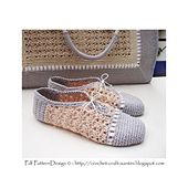 Ravelry: Pearl-Slippers - Basic Crochet Pattern pattern by Sophie and Me-Ingunn Santini