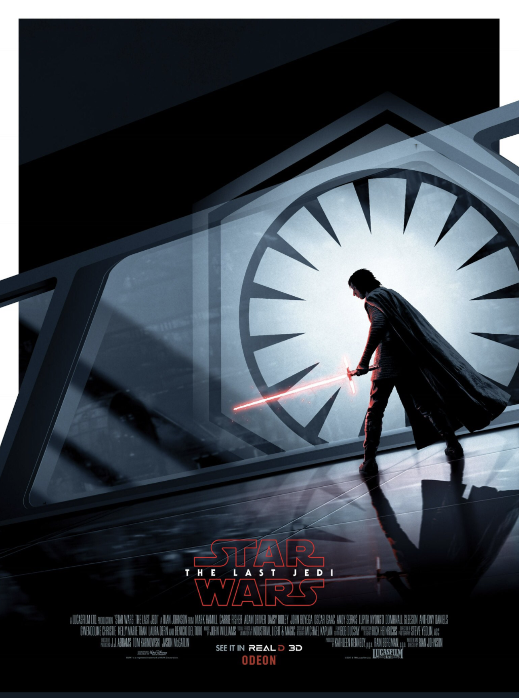 Early Buzz For Star Wars The Last Jedi Says It S A Surprising Funny And Jaw Dropping Film Plus New Poster Art Geektyrant Star Wars Poster New Star Wars Star Wars Memes