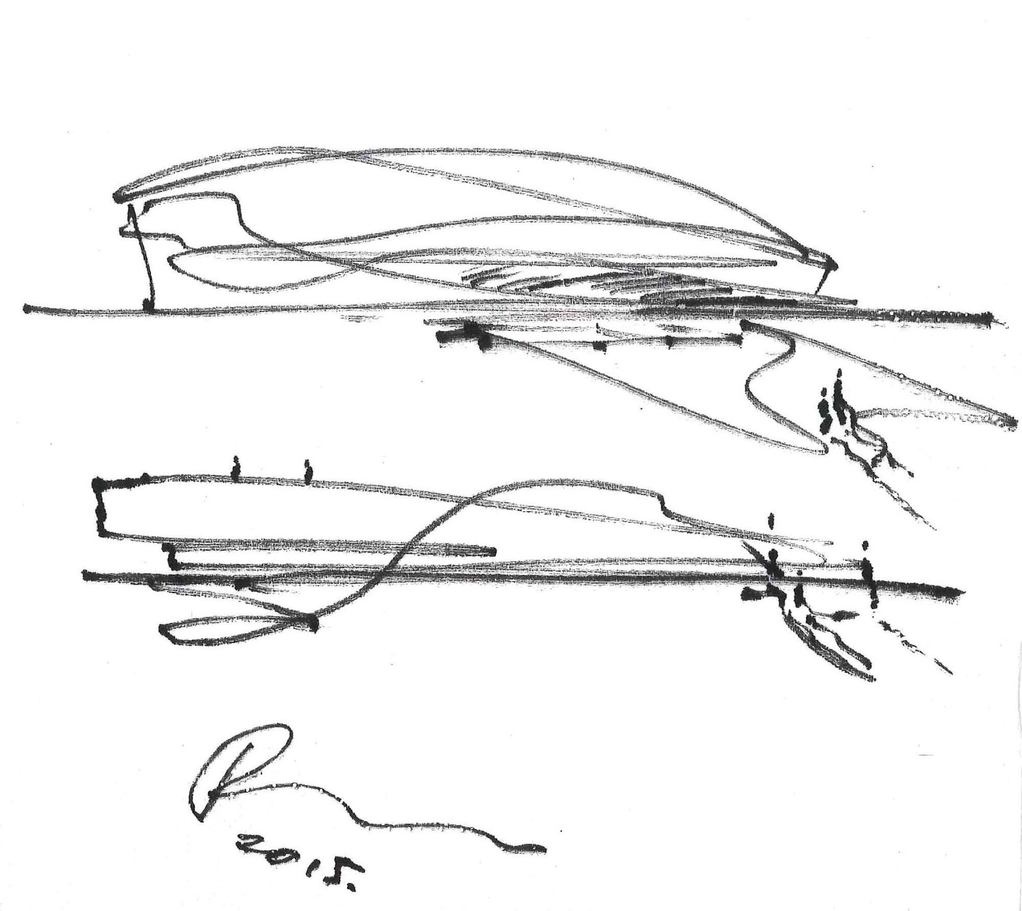 Galeria De 17 Croquis En Servilletas Dibujados Por