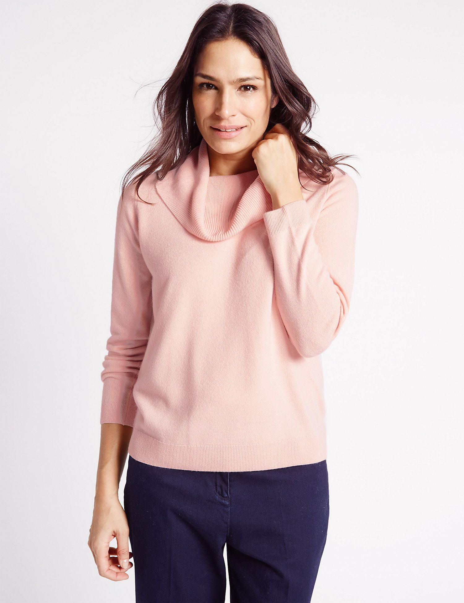 Cowl Neck Long Sleeve Jumper в 2020 г