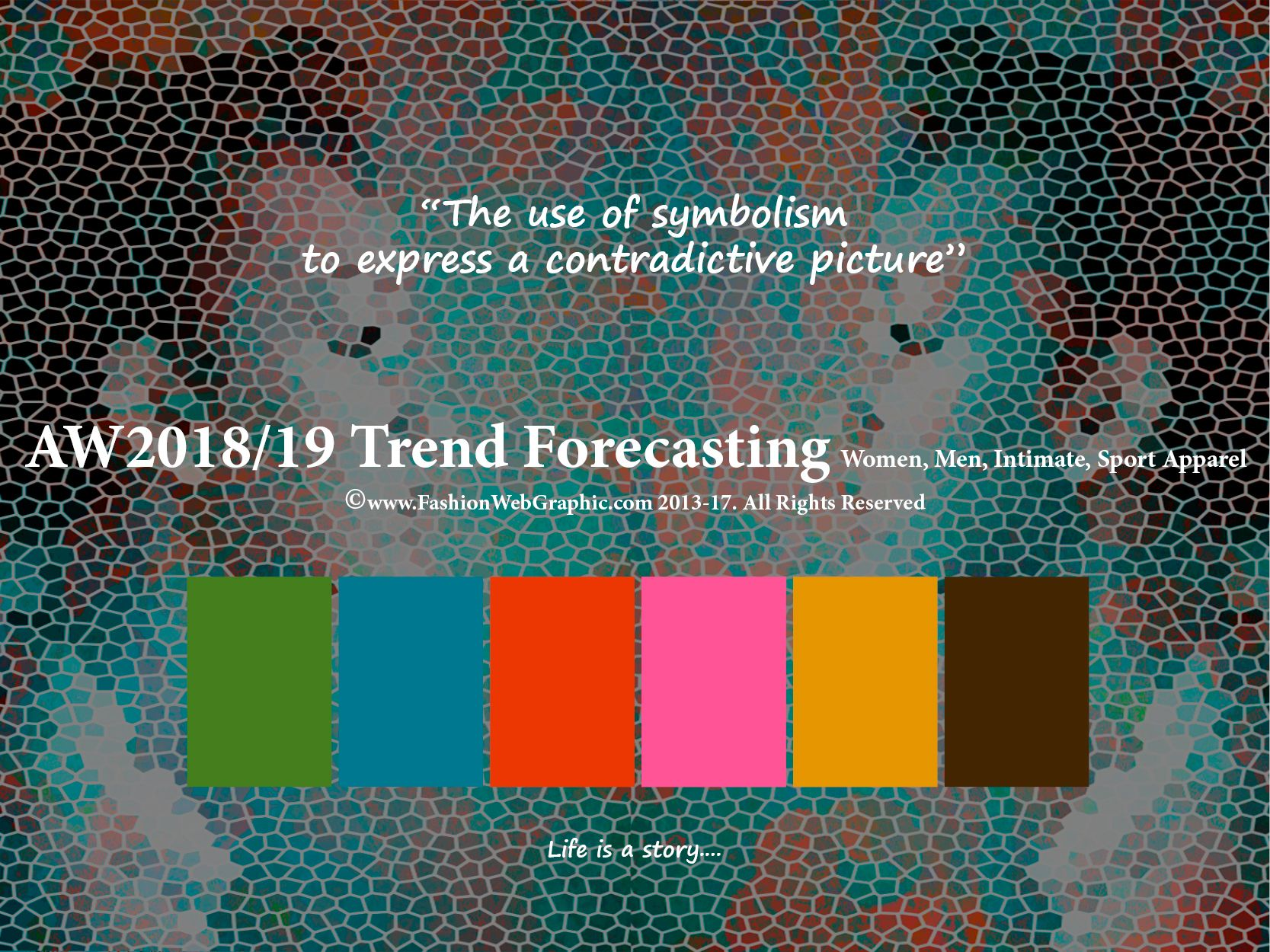 Autumn Winter 2018/2019 trend forecasting is A TREND/COLOR ...