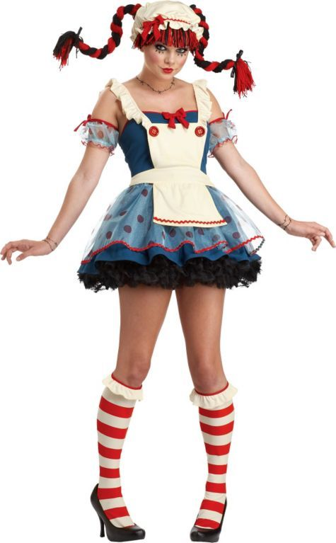 teen girls rag doll costume party city my halloween costume love - All Halloween Costumes Party City
