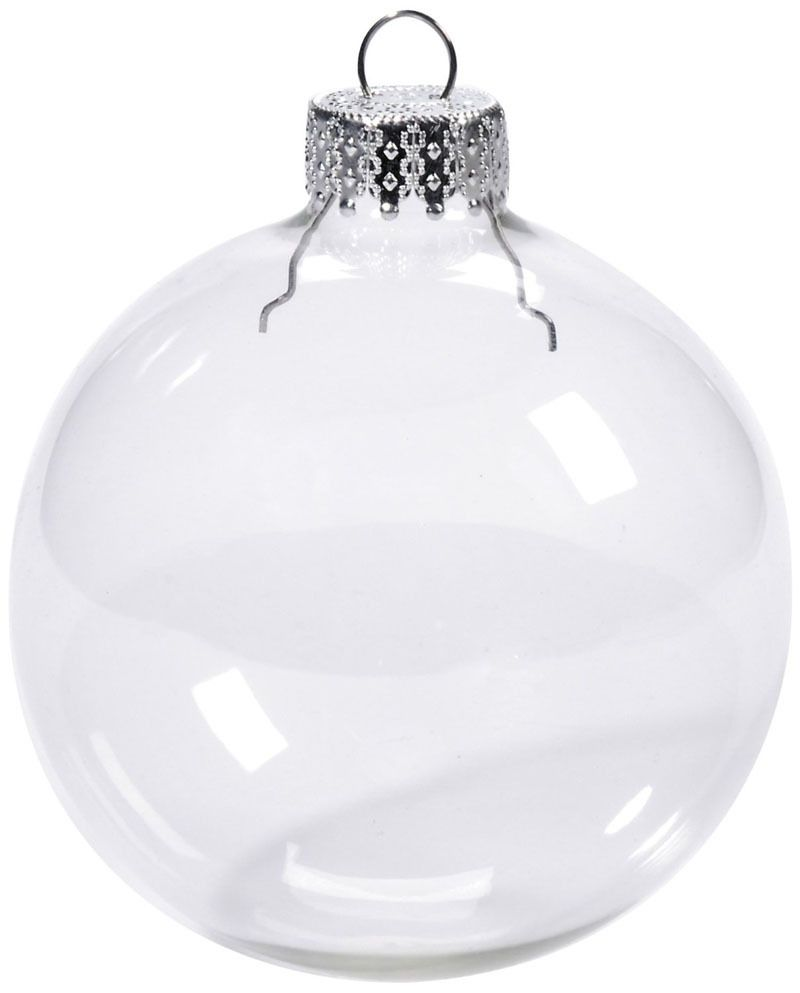 Find More Christmas Decoration Suppliesrmation About Free Shipping Diy  Paintable Transparent Christmas Ornament Decoration 66mm