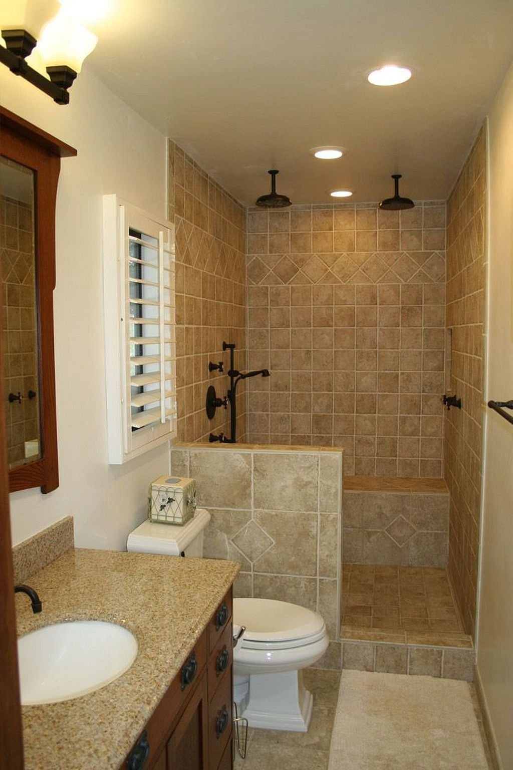 Insanely Cool Small Master Bathroom Remodel Ideas On A Budget 45 Small Bathroom Small Space Bathroom Small Master Bathroom