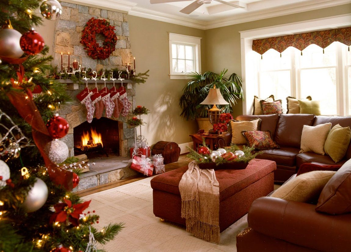 inspiring christmas decorations ideas for living room
