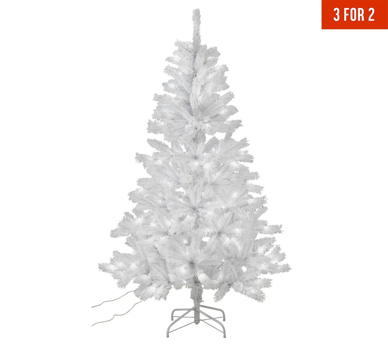 Buy Collection 6ft Pre Lit Christmas Tree White At Argos Co Uk Visit Argos Co Uk To Shop Online Pre Lit Christmas Tree Christmas Tree White Christmas Trees