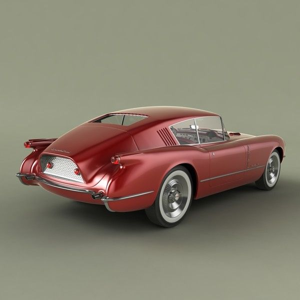 1954 Chevrolet Corvette Corvair Concept - looks like an old Porshce