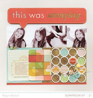 'This Was Amazing' Layout by Robyn Werlich using the July Kits at @Studio Calico
