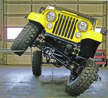 Yj Spring Conversion Jeep Cj Jeep Trails Yellow Jeep