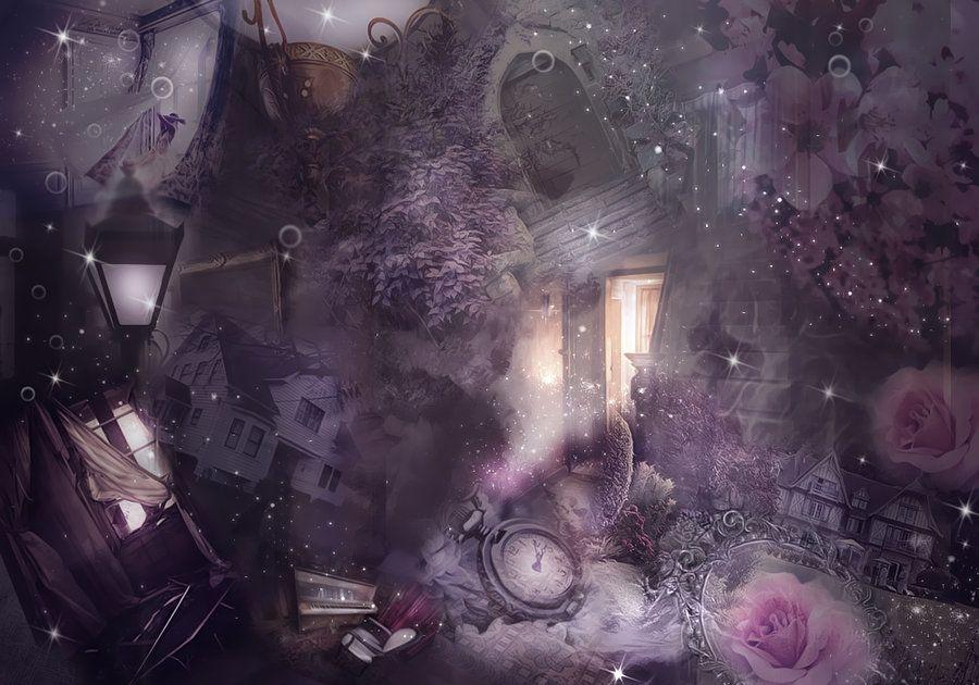 Magical Premade Background By Valentine Deviant Design De Capas