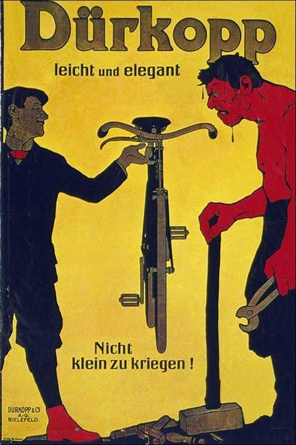 Galería de ilustraciones publicitarias de empresas de bicicletas realizados en el S.XX. Retro publicidad de viejas marcas de bicicletas para recordar y coleccionar.