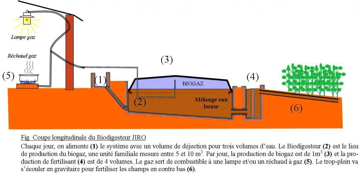 Le Biogaz, de l'énergie durable et peu coûteuse pour Madagascar | Jiro