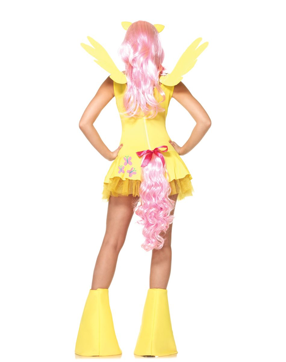 for hannah, my little pony fluttershy pony adult womens costume