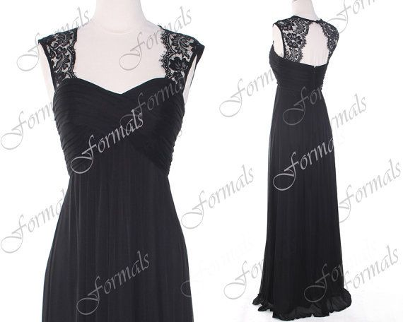 Black Prom Dress, Lace Forma... from Formals on Wanelo | prom ...