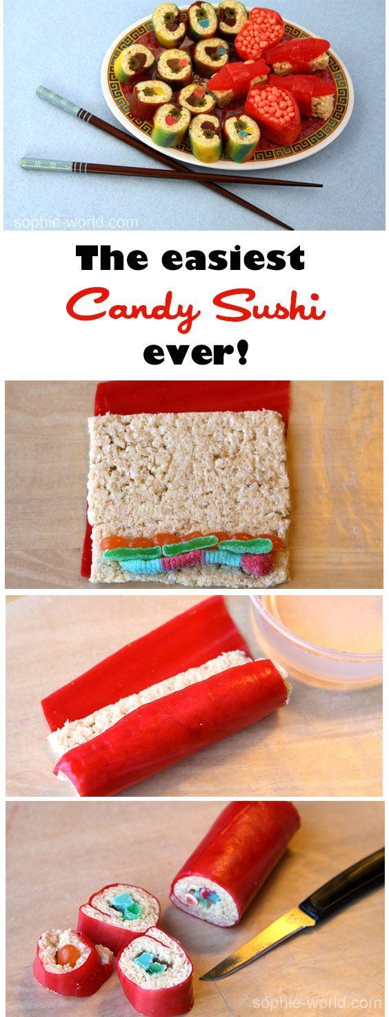 How to Make Candy Sushi (Yes, You Read That Correctly) #candysushi - usb bellek #candysushi