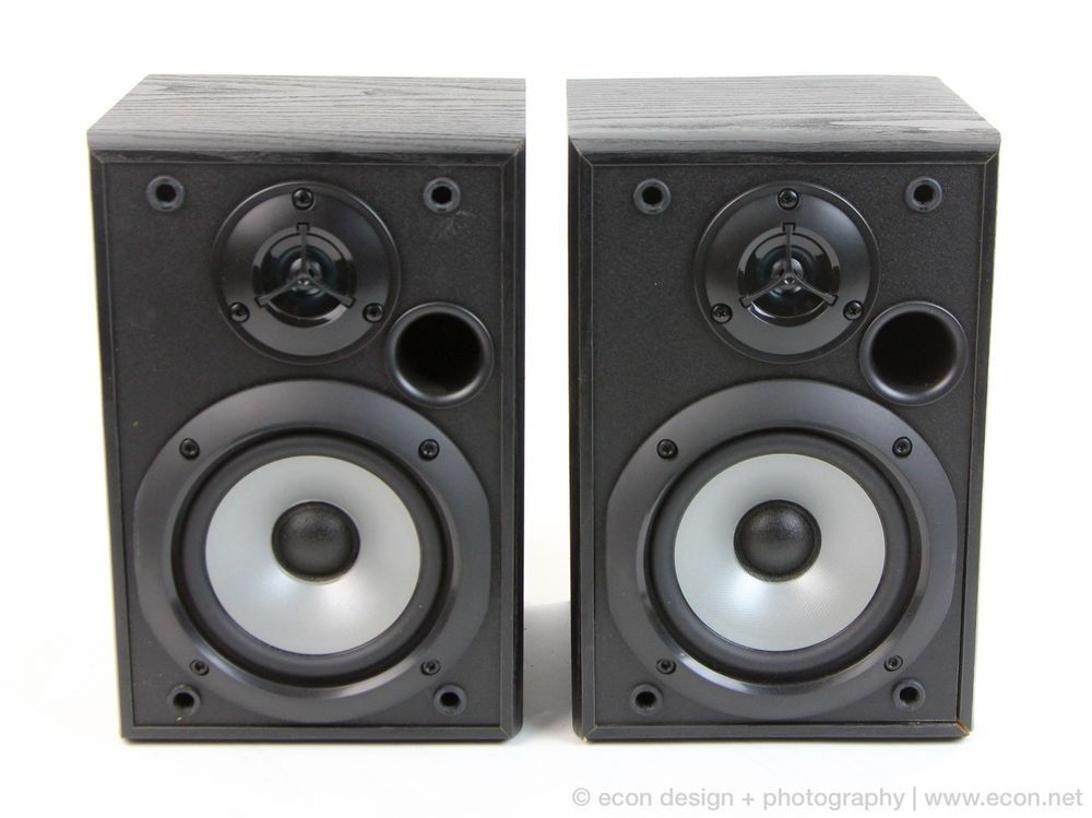 Sony SS B1000 120W 2 Way Stereo Bookshelf Speakers Excellent Condition
