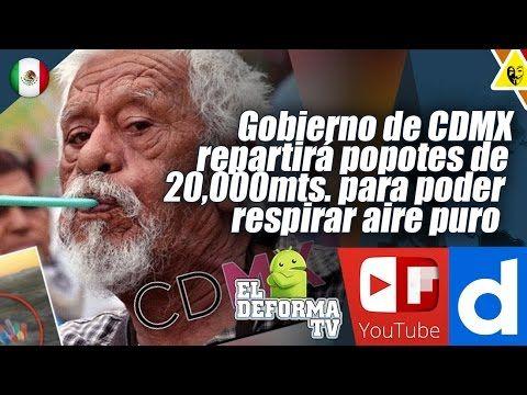 111 Gobierno de CDMX repartirá popotes de 20,000 mts  para poder respira...