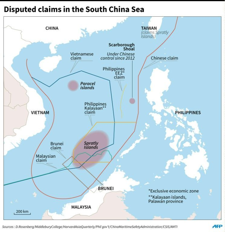 South China Sea territorial dispute What its all about