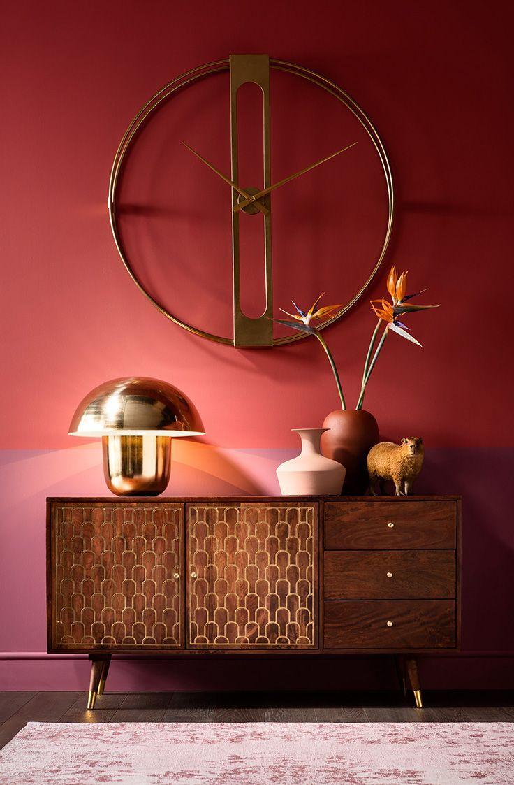 Du rose et du doré ! Cette ambiance au look glamour associe des matériaux nobles tels que le velou... - #ambiance #associe #cette #glamour #materiaux #nobles #velou - #DesignARoom