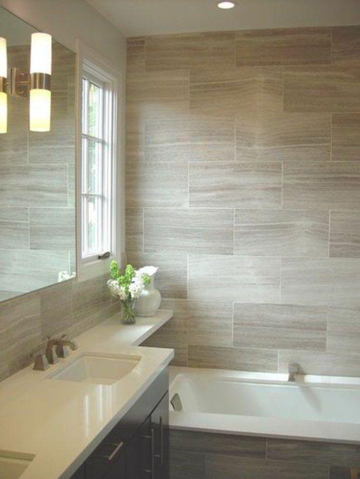 Beaucoup d\u0027idées en photos pour une salle de bain beige Salle de