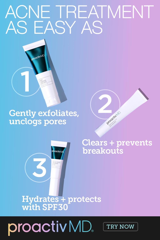Acne Treatment As Easy As Acne Treatment Skin Care Treatments Clear Acne