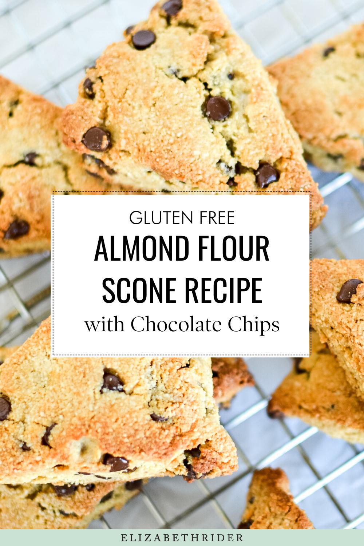Almond Flour Scone Recipe with Chocolate Chips (Gluten-Free) | Elizabeth Rider