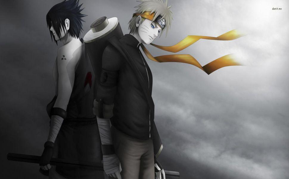 Sasuke Uchiha And Naruto Uzumaki Hd Wallpaper With Images