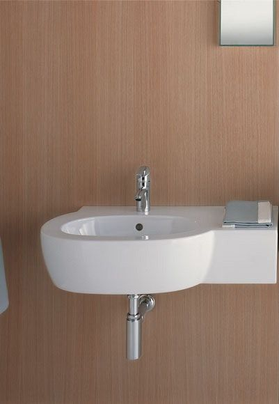 Small Space Solutions: Tiny Bathroom Sinks | Tiny bathrooms, Small ...