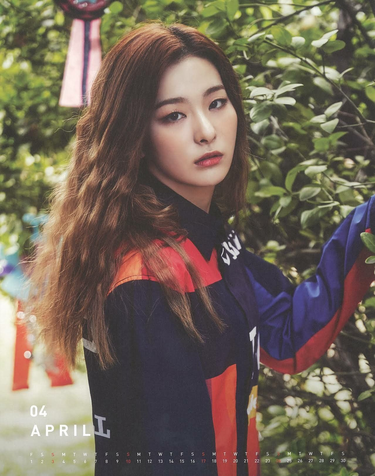 April Rose Calendar : April seulgi red velvet s season greeting calendar