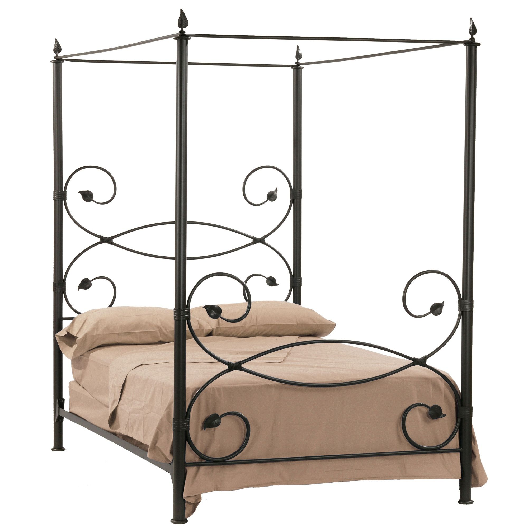 Leaf Canopy Bed Iron Canopy Bed Wrought Iron Beds Iron Bed