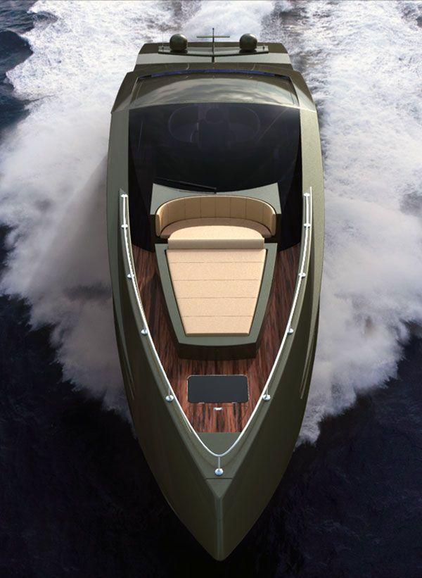 The Lamborghini Yacht By Mauro Lecchi Boats Cars Boat Yacht