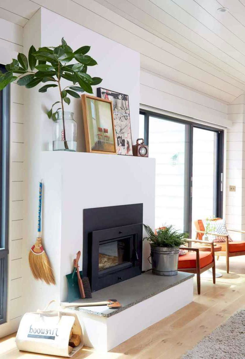 43 Amazing Fireplace Ideas For Scandinavian Living Rooms In 2020