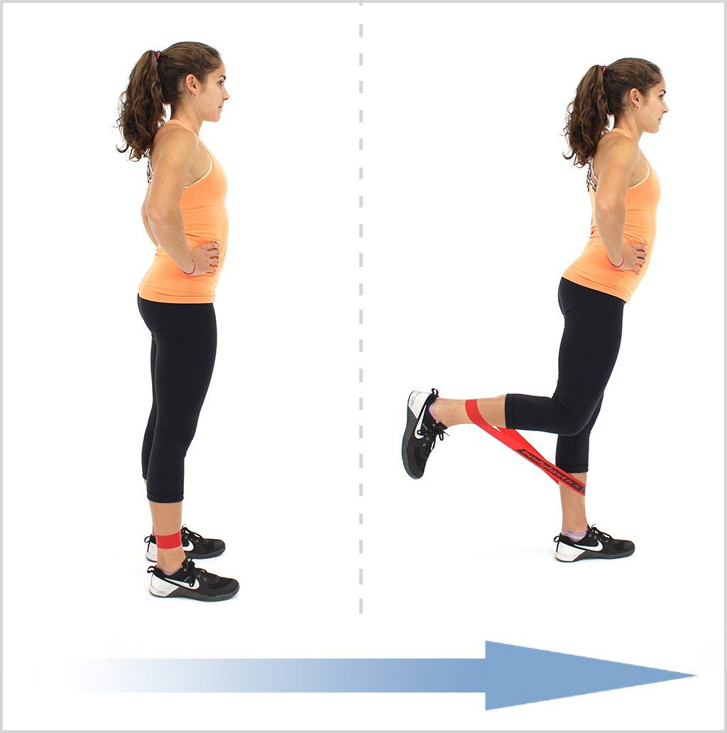Resistance Band Exercises To Build Your Lower Body: Legs