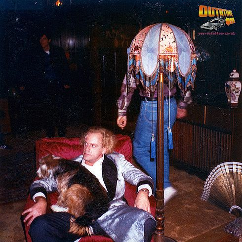 29 Remarkable Behind The Scenes Photos From Back To The Future