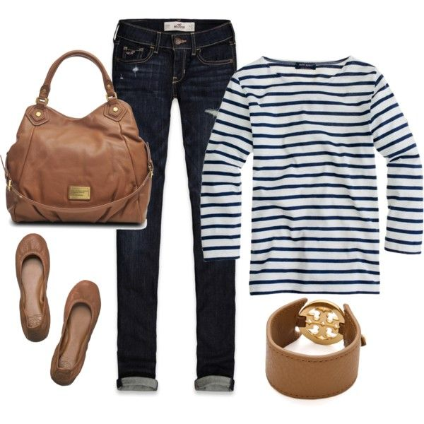 """""""Stripes"""" by honeybee20 on Polyvore"""