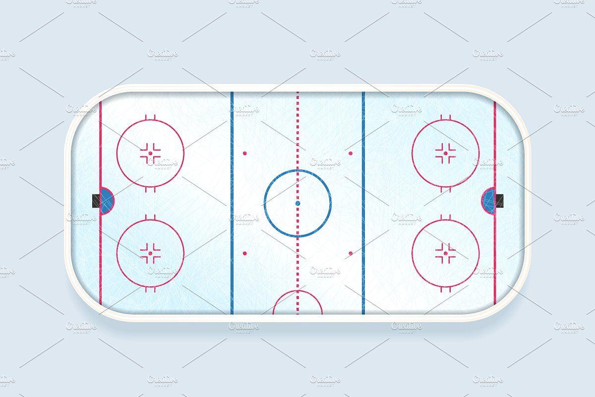 Ice Hockey Rink Ice Hockey Rink Ice Hockey Hockey Rink