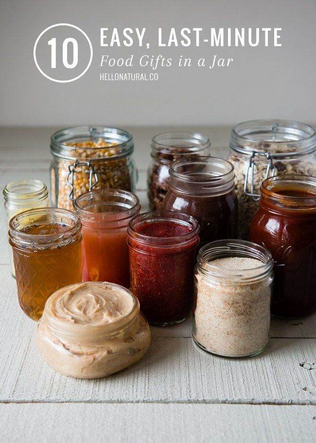 10 Last Minute Food Gifts in a Jar   HelloGlow.co