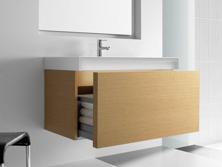the roca stratum vanity unit provides a smart storage solution for your bathroom essentials