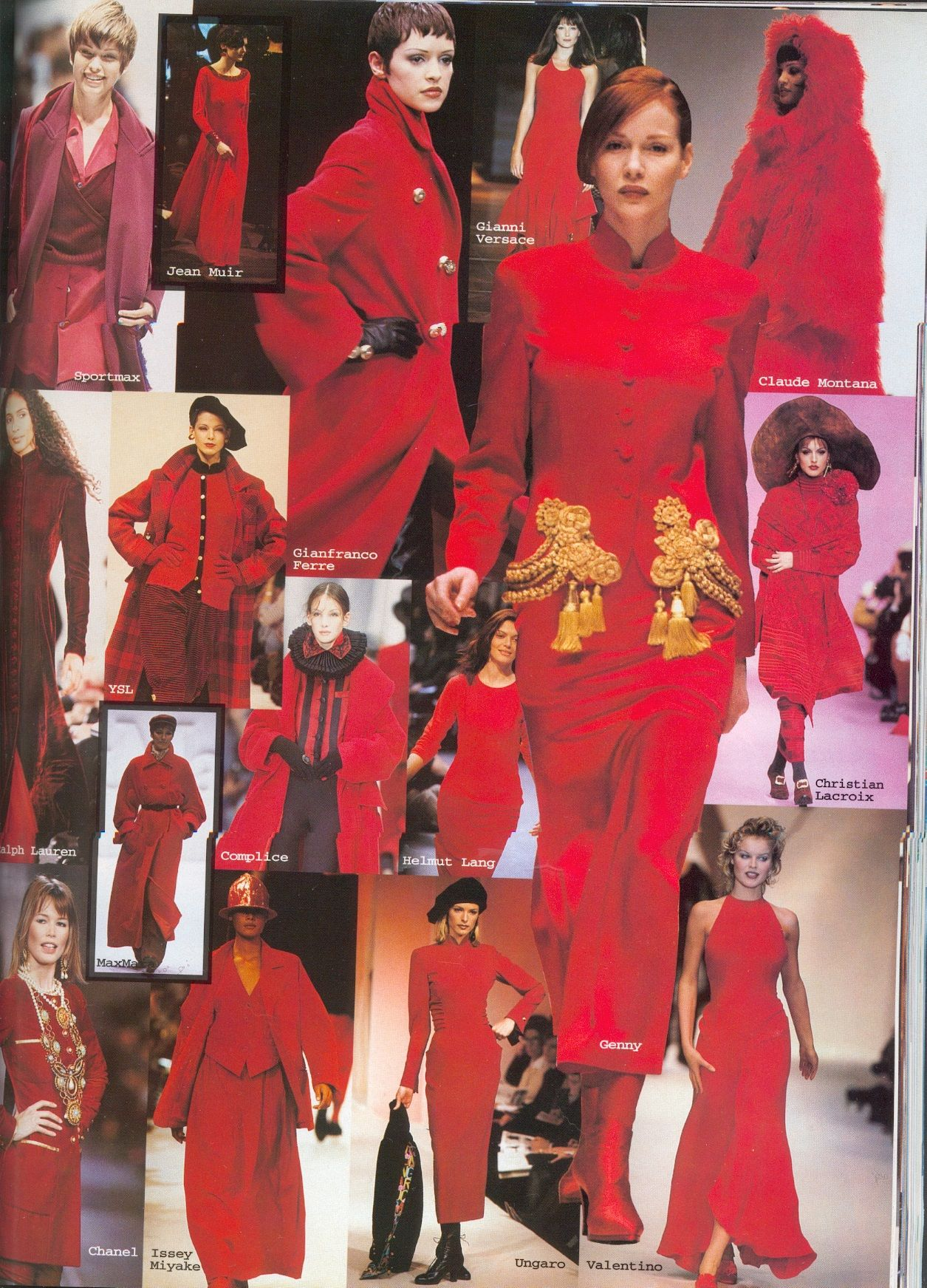 Red 90s glam!