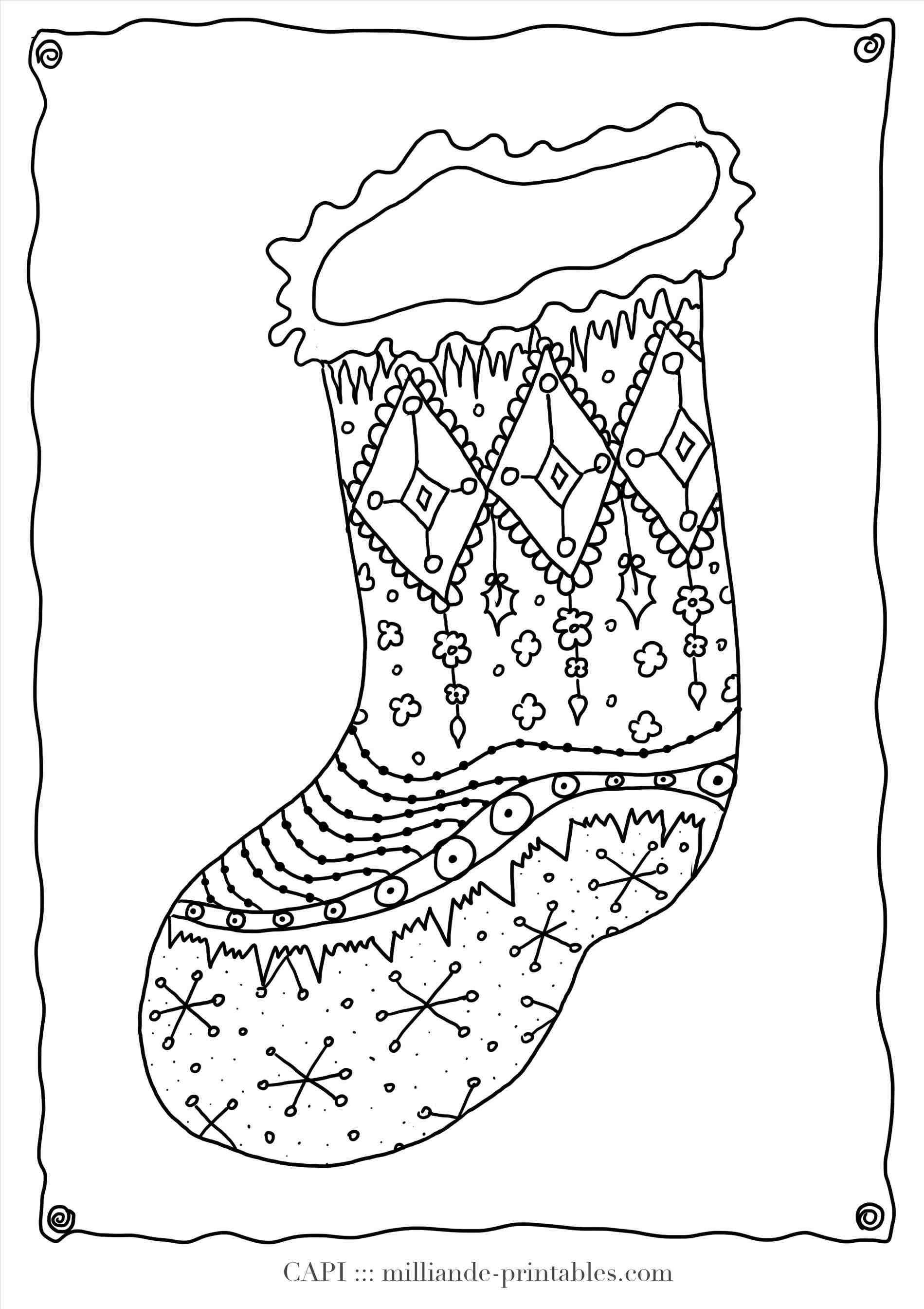 New Post plain christmas stocking coloring page | xmast | Pinterest ...