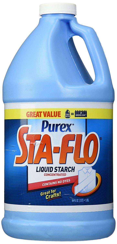 Purex Sta Flo Liquid Starch 64 Ounce Laundry Starch Amazon Com