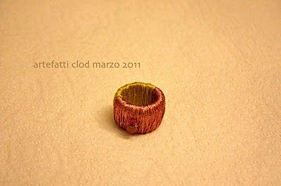 anello con tappo tetrapack - arte-fatti