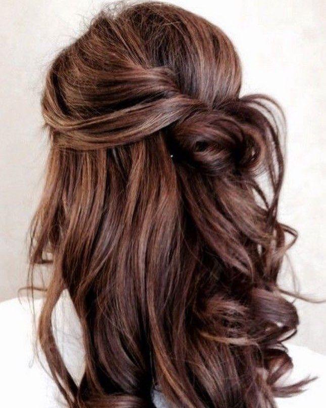 half up half down hairstyle #halfuphalfdown #hairstyles #braids