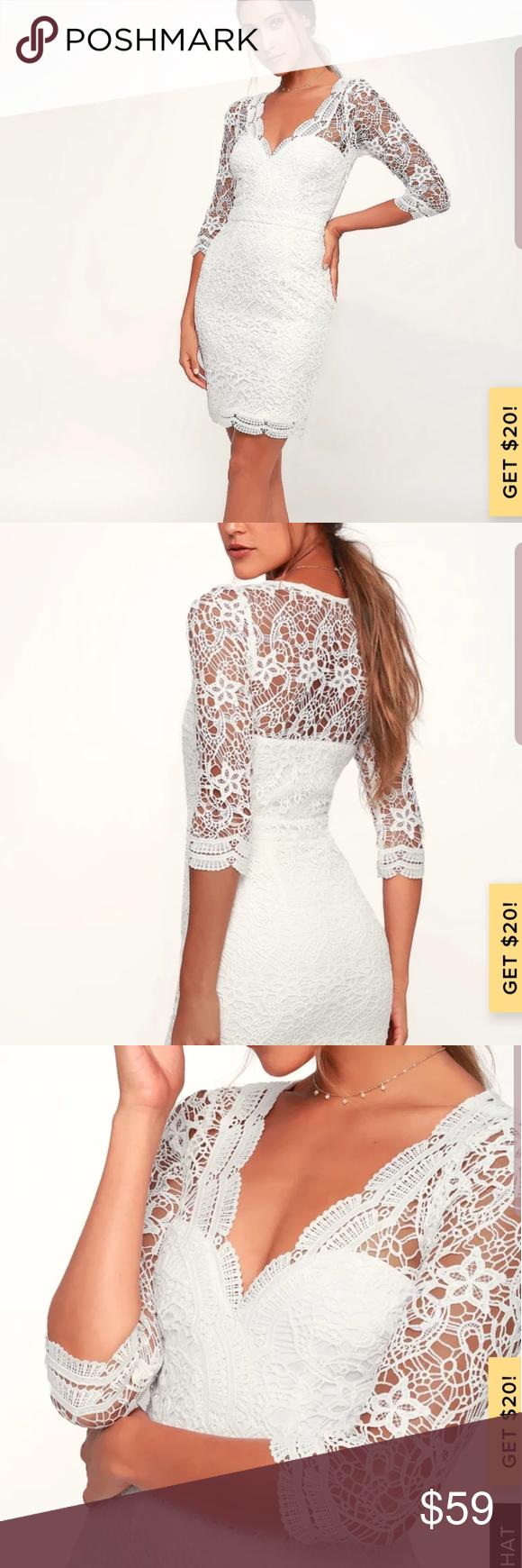 Lulu S Rainey White Lace Long Sleeve Bodycon Dress White Lace Long Sleeve Bodycon Dress Dresses Long Sleeve Bodycon Dress [ 1740 x 580 Pixel ]