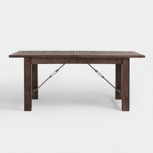 Wood Farmhouse Extension Table | World Market