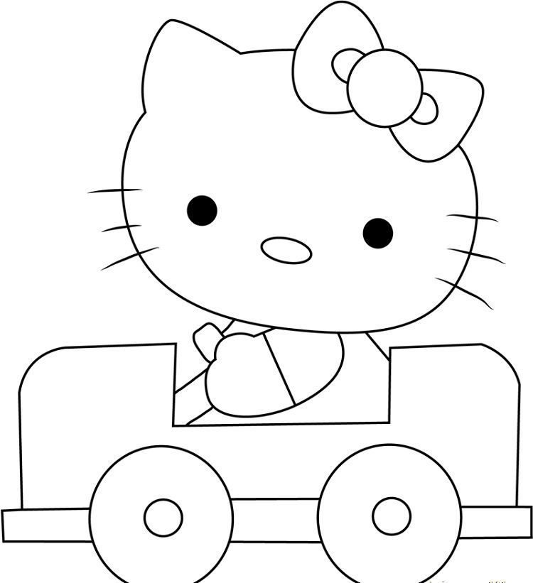 Hello Kitty Bow Coloring Pages Hello Kitty Bow Mermaid Coloring Pages My Little Pony Coloring