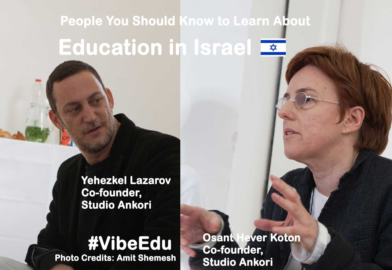 People you must know - education in #Israel - Yehezkel LazarovCo-founderStudio Ankori #VibeEdu @VibeIsrael #edchat http://ift.tt/1SlCCtp