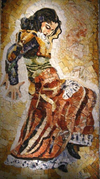 Flameco Mosaicos Flamenco Pequeña