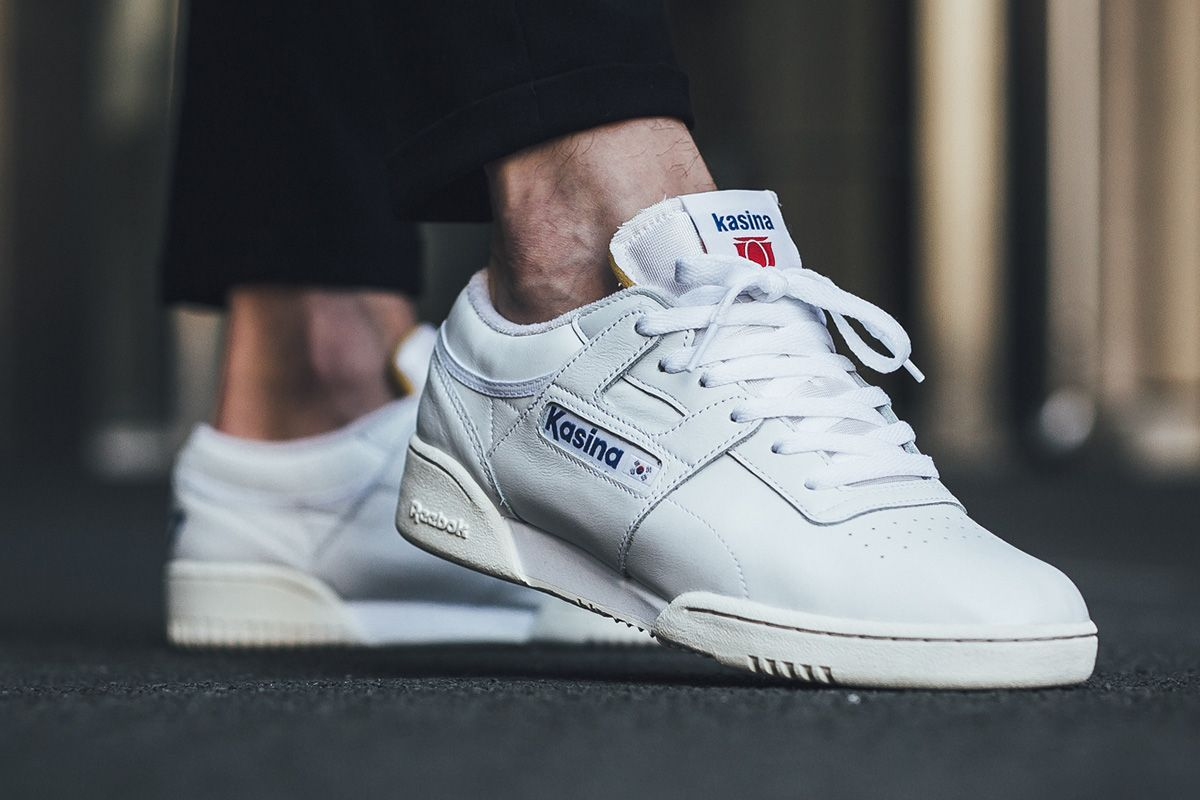 Kasina Celebrates 20th Anniversary with Reebok Workout Low Clean ... 8c3946f82