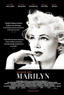 My Week with Marilyn (Michelle Williams, Kenneth Branagh) - 55% - Not much depth but well performed.